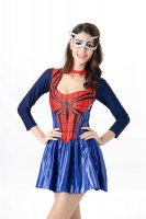 Deluxe Spider Girl Superhero Halloween Costume L15402