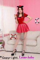 Polka Dot Mouse Costume L15169