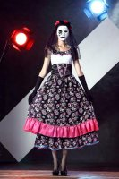 Spanish Lady Day Of Dead Costume L15408