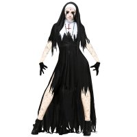 Women's Dreadful Nun Plus Size Costume 15526