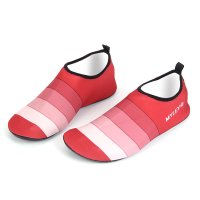 Striped Beach Swim Shoes 012-2