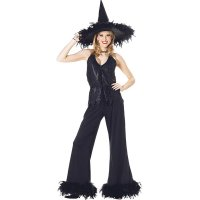 Women's Glamour Witch Costume 15530