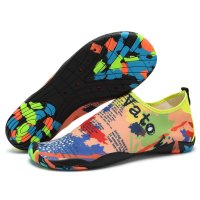 Unisex Water Shoes Drainage Holes Barefoot Quick-Dry Sports Aqua Shoes for Swim Beach Garden TY0800-1