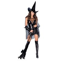 Adult Sexy Witch Women Black Magic Moment Costume 15532