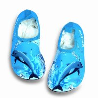 Shark Printed Lovely Kids Beach Shoes 0806