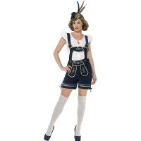 Traditional Deluxe Bavarian Womens Costume 1018