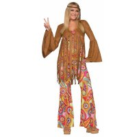 Woodstock Sweetie Hippie Womens Costume 1031