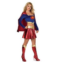 Deluxe Supergirl Adult Costume 1050
