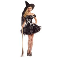 Silver Sparkle Witch Costume