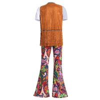60s Psychedelic Floral Flares Mens
