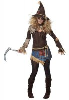 Women's Creepy Scarecrow Costume