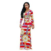 'La Marina  Maxi Dress (Red)