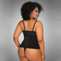 Adjustable Thin Straps Slimming Body Thong Shaper