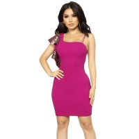 Party Starter Ruffle Sleeve Dress - Plum