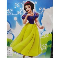 Snow White Girl Costume Dress With Headband