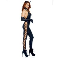 Adult Guilty Pleasure Woman Catsuit Costume