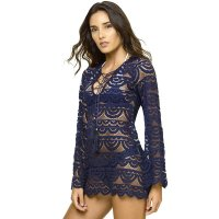 Lace Crochet Beach Tunic