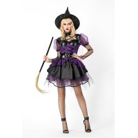 Witch Magic Cosplay Holloween Costume