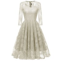 Women's Sweetheart Sling Lace Bridesmaids Dress
