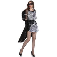 Black Dark Devil Fallen Angel Costume