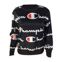 Letter Printed Long Sleeve Sweatshirts
