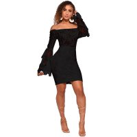 Carolina Off Shoulder Lace Dress