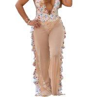 Fashion Wide Leg Beach Pants