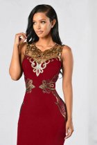 Plus Size Sleeveless Party Dress L36139-2
