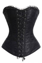 Vintage Strapless Slimming Lace-Up Corset L42656-3