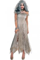 Plus Size Bride Zombie Halloween Costumes