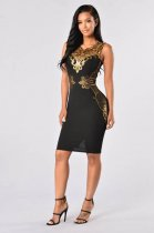 Plus Size Sleeveless Party Dress L36139-4