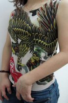 Goshawk Tattoo Sleeveless T-shirt L9840