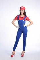 Super Mario Jumpsuits Costume With Long Pant