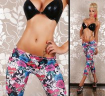 3/4 Legging Pants Tattoo Love Me L360