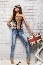 Outerwear Leather Corset L4258