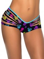 Stylish Mikey Printed Scrunch Bottom L91290-1