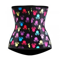 Butterfly Printed Latex Waist Trainer L42645