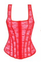 Plus Size Corset Red L4086-2