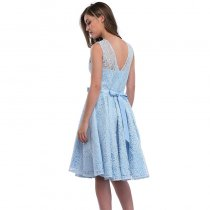 Lace Skater Cocktail Homecoming Formal Dress 36202