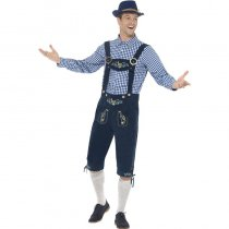 Traditional Deluxe Rutger Bavarian Mens Costume 1019