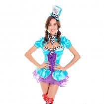 Totally Sexy Mad Hatter Costume 15496