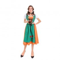 Adult Traditional Bavarian Girl Costume 1028