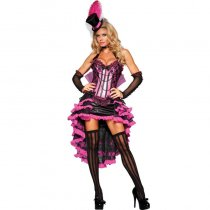 Deluxe Burlesque Beauty Costume 1055