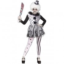 Killer Clown Women's Costume