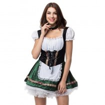 4XL Plus Size German Bavarian Beer Girl Costume