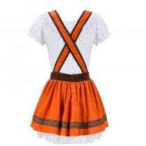 Burnt Orange Ladies Oktoberfest Dress