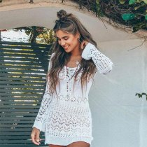 Shona Crochet Mini Dress