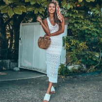 Shona Crochet Maxi Dress