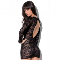 Monarch Lace Up Chemise