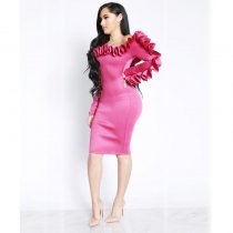 Icon Level Ruffle Dress